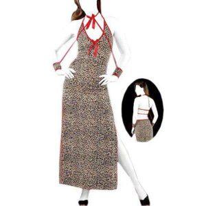 لباس خواب پلنگی مای بن کد 742