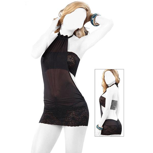 لباس خواب MNG کد 069309 رنگ مشکی
