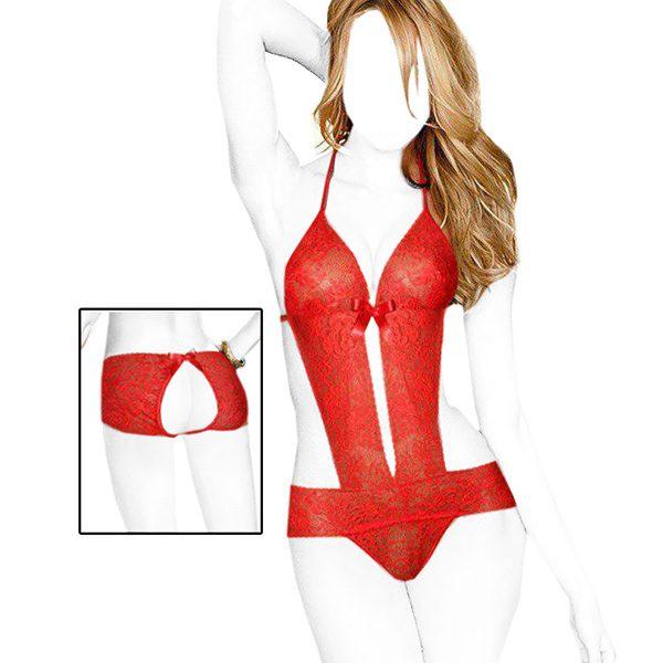 لباس خواب فانتزی Shohreh کد 5110 رنگ قرمز