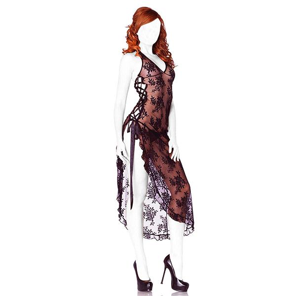 لباس خواب victoria's کد 9614 رنگ مشکی
