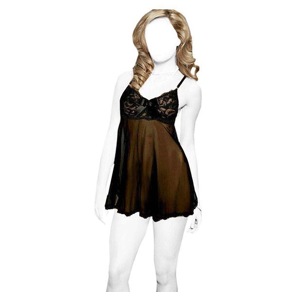 لباس خواب victoria's کد 5100 رنگ مشکی