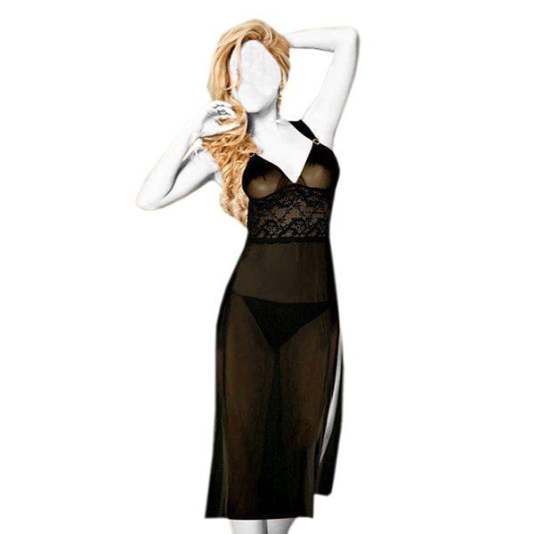 لباس خواب بلند ویکتوریا کد 9480